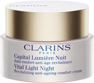 Clarins Vital Light Night Revitalizáló Krém