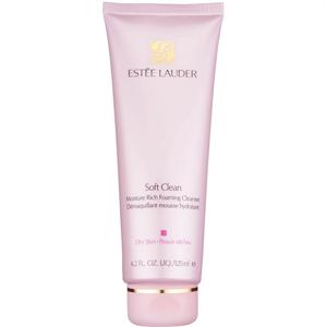 Estée Lauder Soft Clean Nedvességben Gazdag Habzó Arctisztító
