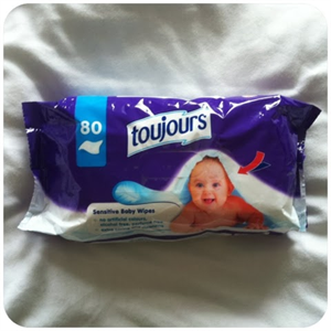 Toujours Baby Wipes Sensitive Popsitörlő