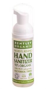 Bentley Organic Organikus Kézfertőtlenítő Aloéval
