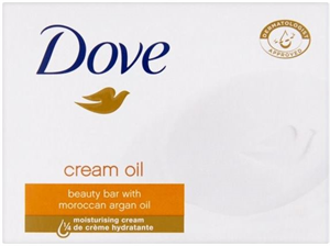 Dove Cream Oil Krémszappan Marokkói Argánolajjal