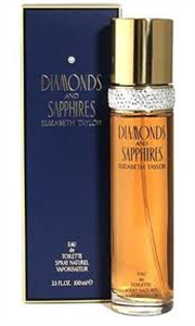 Elizabeth Taylor Diamonds and Sapphires