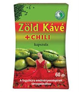 Dr Chen Zöld Kávé + Chili Kapszula