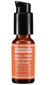 dr dennis gross Skincare Ferulic+Retinol Triple Correction Eye Serum