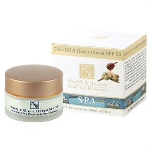 Health&Beauty Olívás Mézes Arckrém SPF20