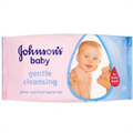 Johnson's Baby Gentle Cleansing Törlőkendő