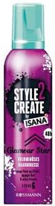 Isana Style 2 Create Dús Hatás Hajrögzítő Hab