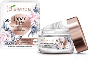 Bielenda Japan Lift - 50+ Ránctalanító és Lifting Hatású Nappali Arckrém SPF6