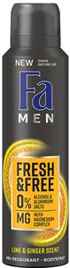 Fa Men Fresh & Free Lime-Ginger Deo Spray