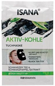 Isana Aktiv-Kohle Tuchmaske (régi)