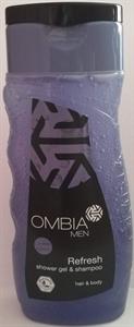 Ombia Men Refresh Shower Gel & Shampoo