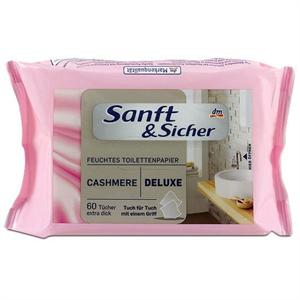 Sanft&Sicher Cashmere Deluxe Törlőkendő
