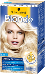 Schwarzkopf Blonde L1++ Extrem Aufheller