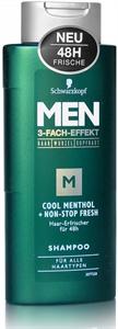 Schwarzkopf Men Cool Menthol + Non-Stop Fresh Shampoo