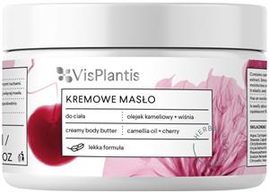 Vis Plantis Herbal Vital Care Regeneráló Testvaj Kamélia Olajjal és Cseresznye Kivonattal