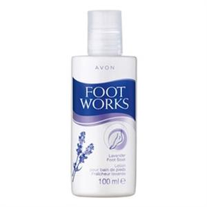 Avon Foot Works Levendulás Lábfürdető