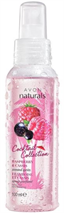Avon Naturals Cocktail Collection Raspberry & Cassis Testpermet
