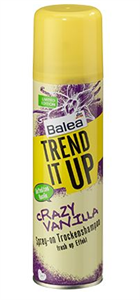Balea Trend It Up Crazy Vanilla Szárazsampon
