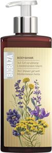 Biobaza 3 az 1-ben Tusfürdő Gél Mediterrán Gyógynövényekkel