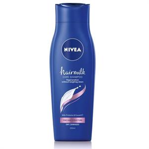 Nivea Hairmilk Ápoló Sampon Vékonyszálú Hajszerkezetre