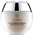 ULTIMA II Clear White Supreme Enhancing Night Cream