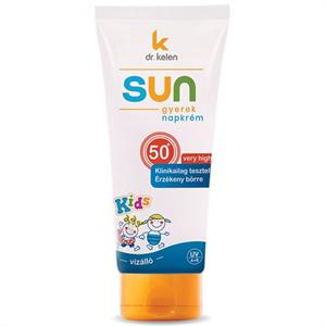 Dr. Kelen Sun F50+ Gyerek Napkrém