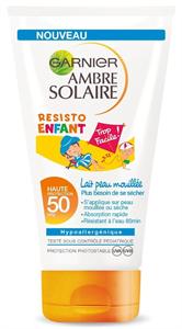 Garnier Ambre Solaire Naptej Gyermekeknek Ff50