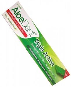 Optima Aloedent Triple Action Fogkrém Aloe Verával és Koenzim Q10-el