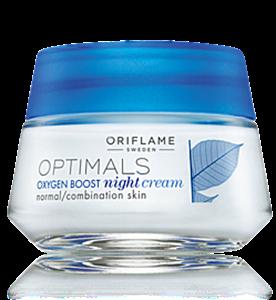 Oriflame Optimals Oxygen Boost Oxigénes Éjszakai Krém Normál/Kombinált Bőrre