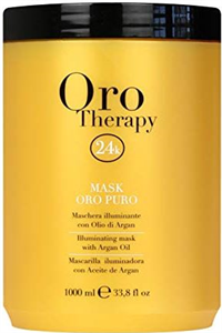 Fanola Oro Therapy 24K Illuminating Mask With Keratin and Argan Oil