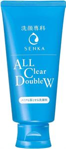 Shiseido Senka All Clear Double W Sminklemosó és Arctisztító