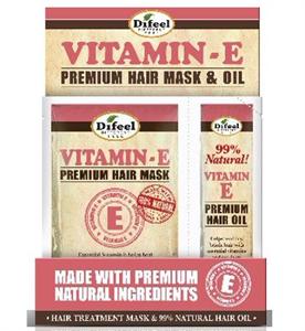 Difeel E-Vitamin Hajápoló Prémium Maszk+Hajolaj