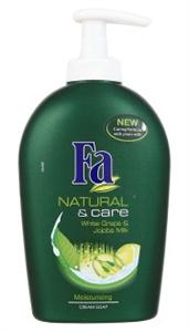 Fa Natural & Care Folyékony Krémszappan Fehér Szőlő és Jojoba Tej Kivonattal
