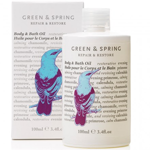 Green & Spring Repair & Restore Body & Bath Oil