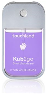 Touchland Kub2go Kézfertőtlenítő - Levendula