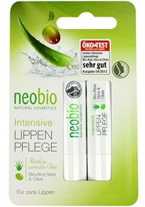 Neobio Ajakápoló Duo Bio Aloe Verával és Bio Olívával