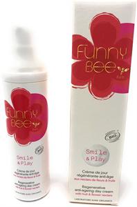 Funny Bee Smile & Play Regeneráló Arckrém