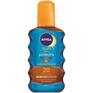 Nivea Sun Protect&Bronze Napolaj Spray
