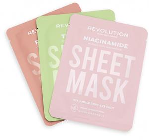 Revolution Skincare Biodegradable Oily Skin Sheet Mask Fátyolmaszkok