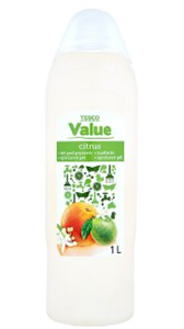 Tesco Value Citrus Tusfürdő