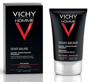 Vichy Homme Sensi-Baume Mineral Ca Borotválkozás Utáni Balzsam Érzékeny Bőrre