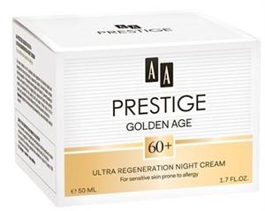 AA Prestige Golden Age 60+ Ultra Regeneráló Éjszakai Krém