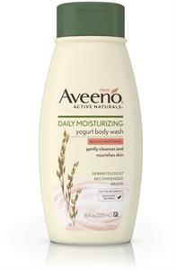 Aveeno Daily Moisturising Yogurt Apricot Body Wash
