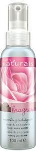 Avon Naturals Rózsa és Csokoládé Testpermet
