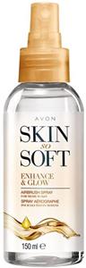 Avon Skin So Soft Ragyogást Kölcsönző Testápoló Olajspray