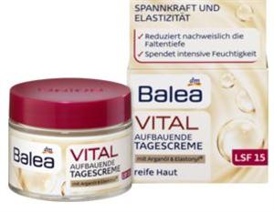 Balea Vital Revitalizáló, Hidratáló és Bőrfeszesítő Nappali Arckrém