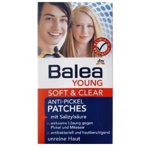 Balea Young Soft&Clear Pattanás Leszárító Tapasz