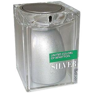 Benetton Silver Man EDT