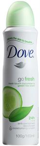 Dove Go Fresh Cucumber Alumíniummentes Deo Spray
