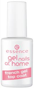 Essence Gel Nails At Home Zselés Francia Fedőlakk